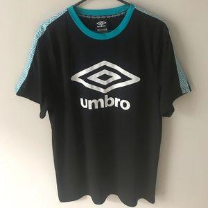 Black/Blue Umbro Shirt!